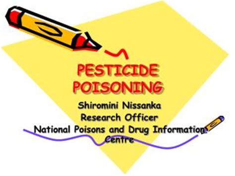Research paper on effects of pesticides